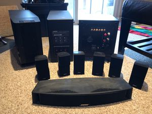 Bose Sound Systems and Martin Logan Subwoofer for Sale in Alexandria, VA