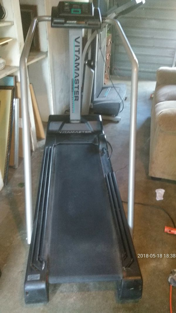 Vita Master Treadmill Works Great60 For Sale In Stockton CA