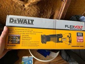 Photo Dewalt Flexvolt Battery Sawzall