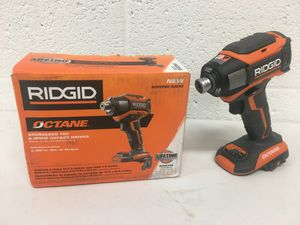 Photo Ridgid 18 Volt Octane Brushless 6 mode 1/4 in. impact driver tool only
