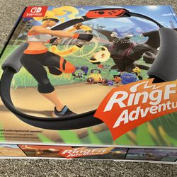 New Ring Fit Adventure for Nintendo Switch Thumbnail