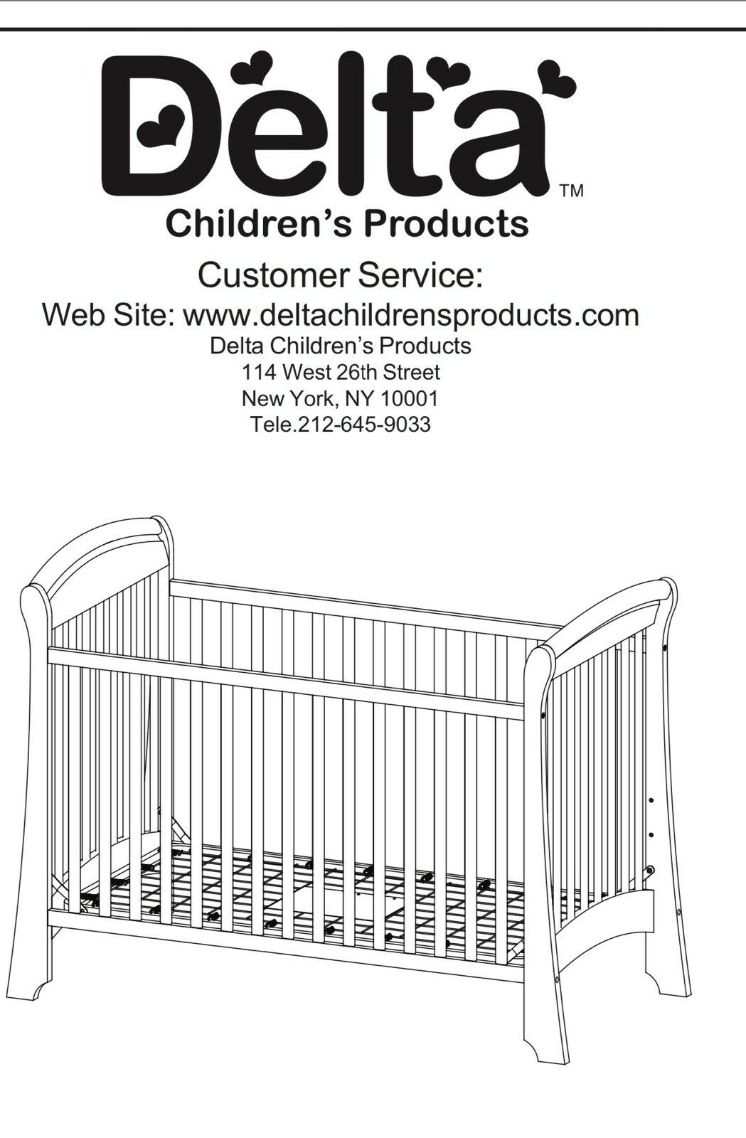 Delta Baby crib