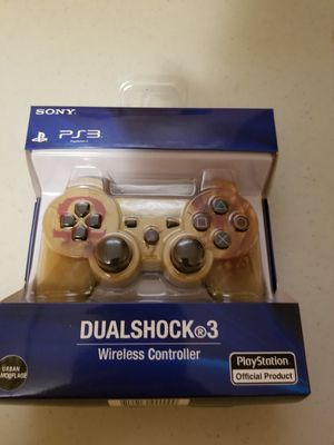 BRAND NEW PS3 WIRELESS CONTROLLER (GOD OF WAR) FACTORY SEALED for Sale in West Fargo, ND