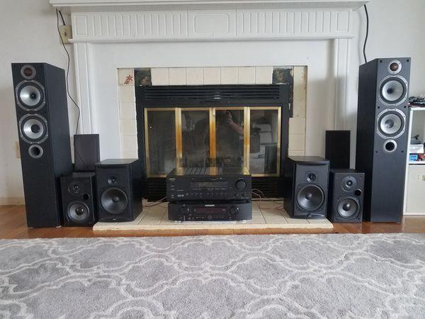 receivers speakers sub center channel bookshelf yamaha pioneer marantz  onkyo polk boston acoustics for Sale in Lynnwood, WA - OfferUp