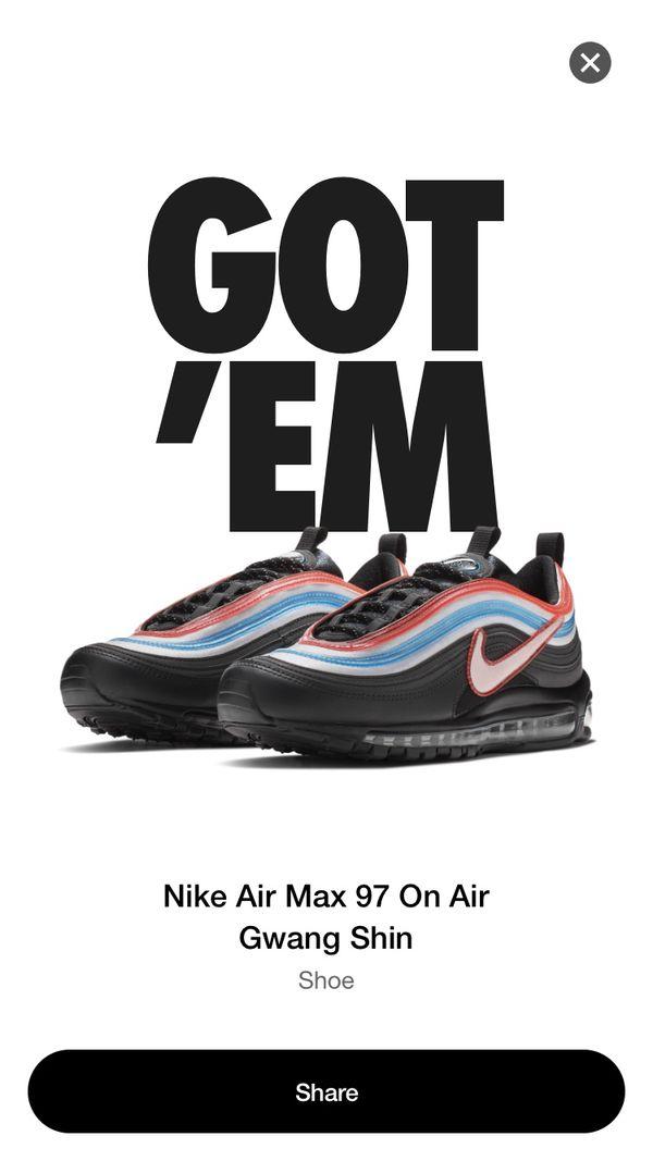 297306cc89d5c Nike air max 97 Gwang shin for Sale in Huntington Beach, CA - OfferUp