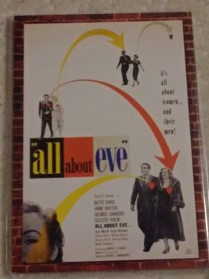Photo All about Eve. Bette Davis card serial 421/500