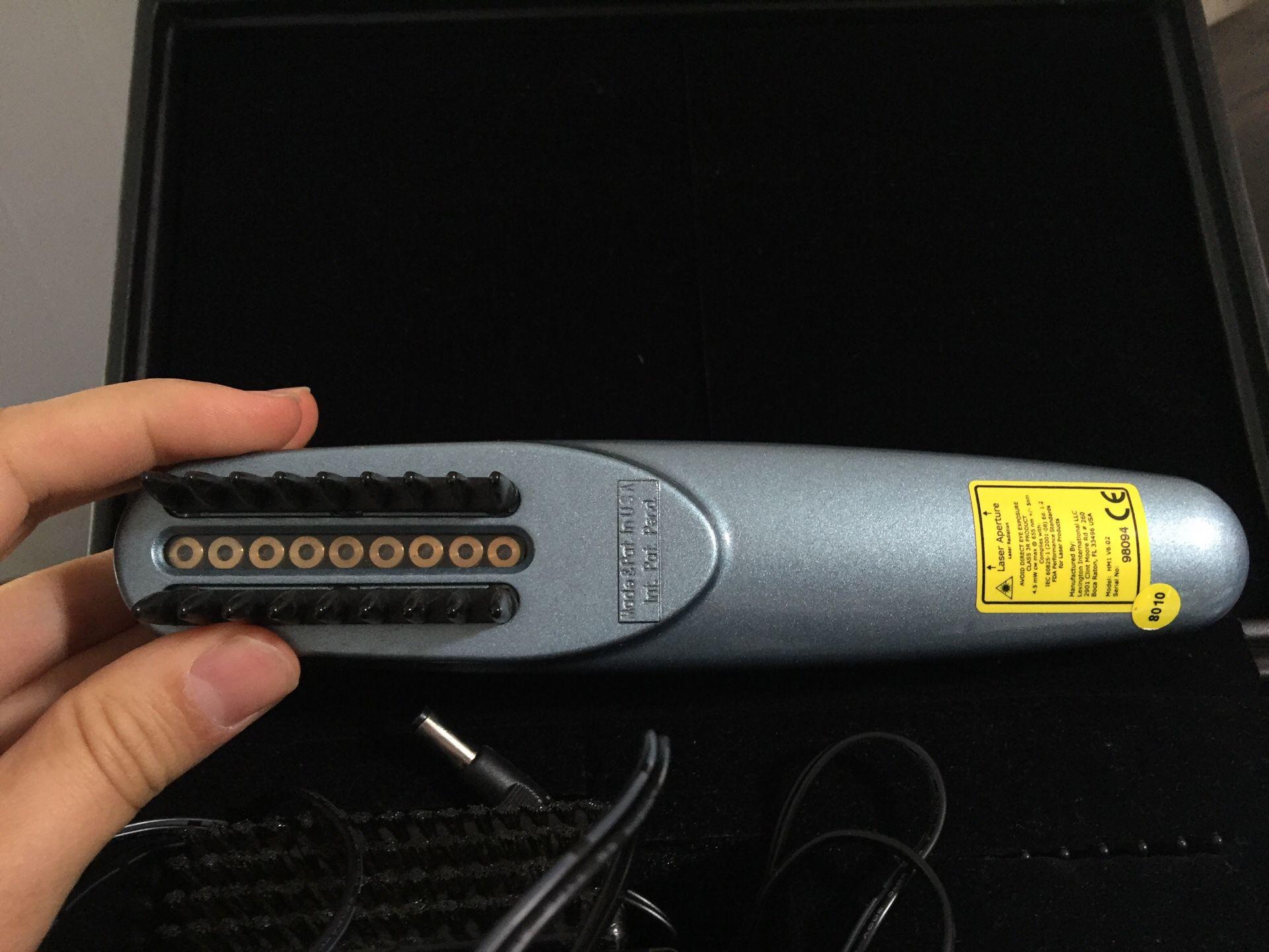 Hairmax laserComb Hair loss tool