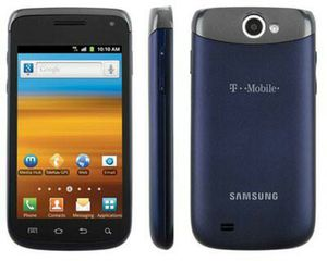 Samsung Galaxy Exhibit II 4G T679 Blue T-Mobile (Smartphone) for Sale in Flemington, NJ
