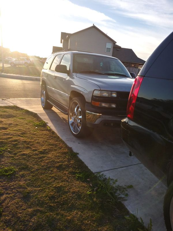 Toyota Henderson Nc >> 2004 chevy tahoe on 26s for Sale in San Antonio, TX - OfferUp