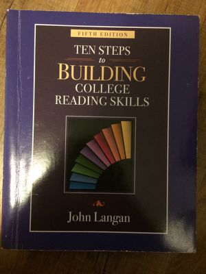 Ten Steps to Building college reading skills Textbook for Sale in Pittsburgh, PA
