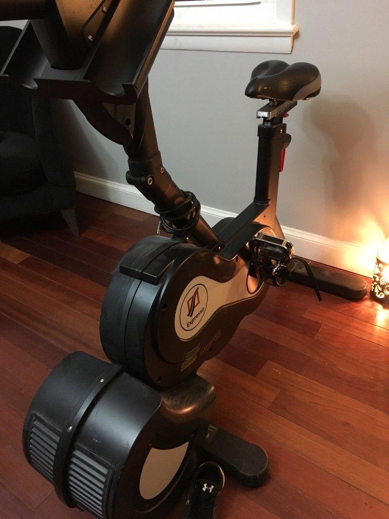 Expresso HD upright exercise bike EUC