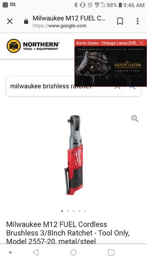 Milwaukee 1/2 in drive ratchet, used for sale  Osawatomie, KS