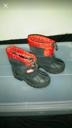 f13ea0ac634d New and Used Toddler snow boots for Sale in Petersburg