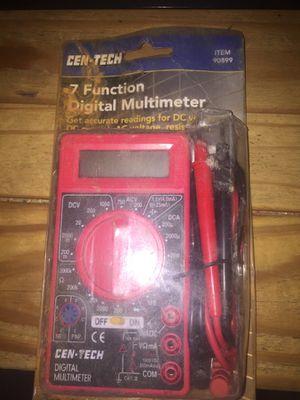 Cen Tech 7 Function Digital Multimeter for Sale in Silver Spring, MD