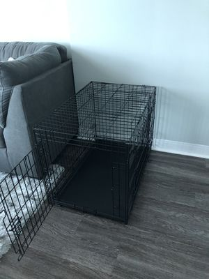 Large Foldable Dog Crate - used once for Sale in Orlando, FL