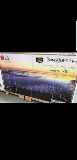"""75"""" LG 4K IPS 4K HDR SMART TV ( sounds harman/kardon) Thumbnail"""