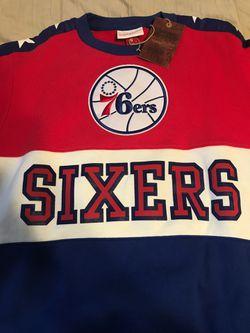 76ers Crew Neck Pull Over 'Sixers' NBA Philadelphia 76ers Thumbnail