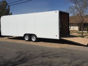 8-1/2 x 24 x 7 Enclosed Trailer for Sale in San Francisco, CA