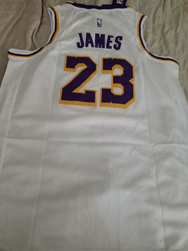 a835bf9019e1 Lebron James Lakers Jersey White XL (52) for Sale in Tolleson