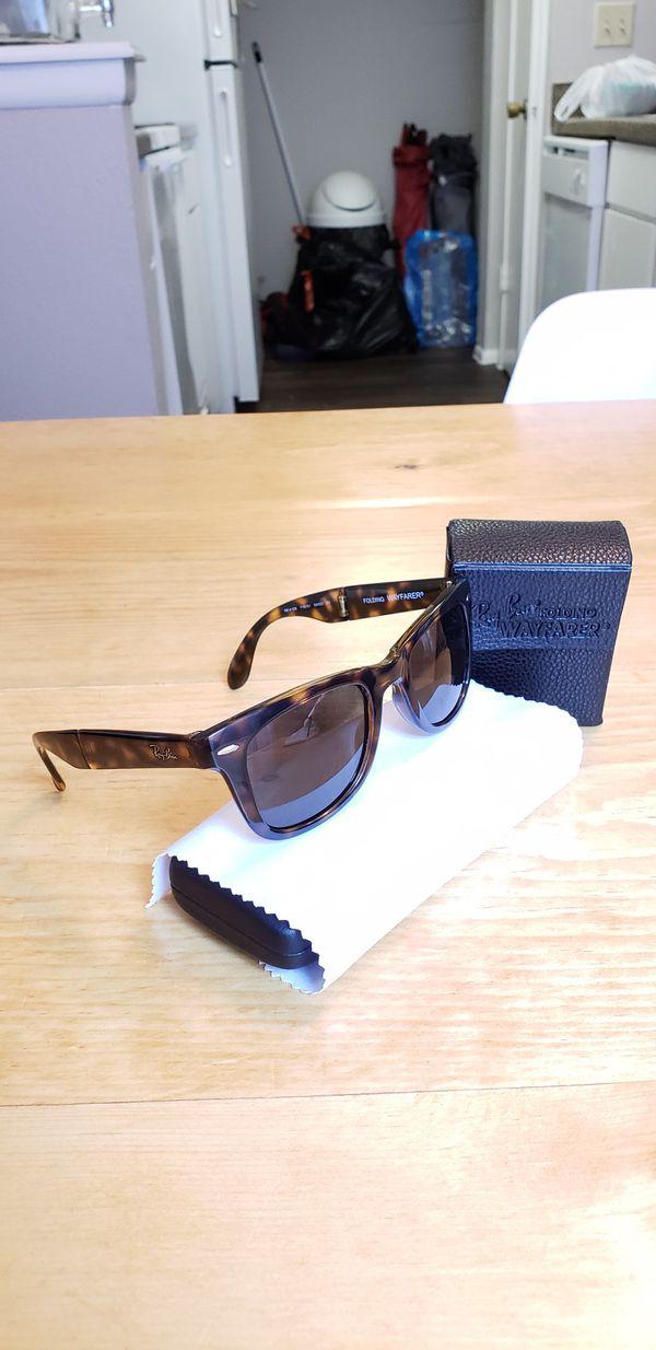 af8191d824a1a ... coupon code for ray ban folding wayfarer prescription sunglasses for  sale in san antonio tx offerup