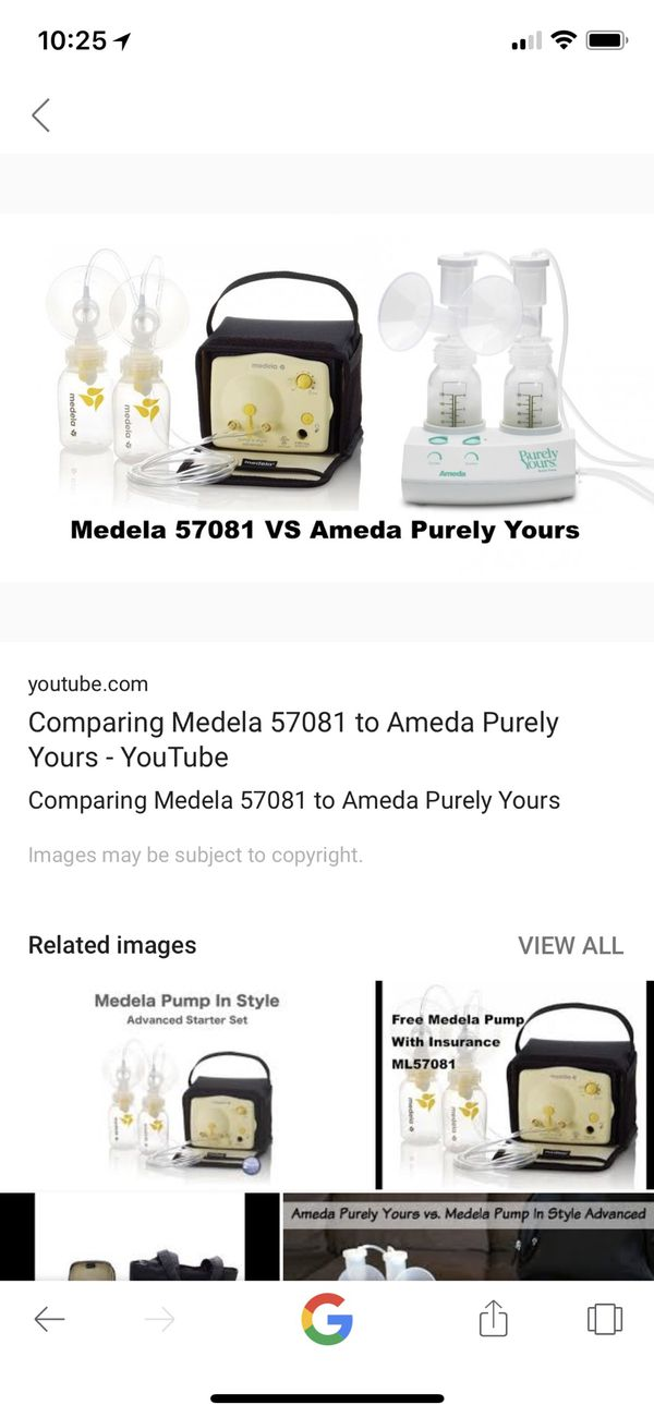 Purely Yours Vs Medela Pump In Style Best Breast Pump Review Of 6
