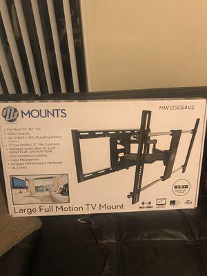 Full swivel tv mount for Sale in Milton, WA