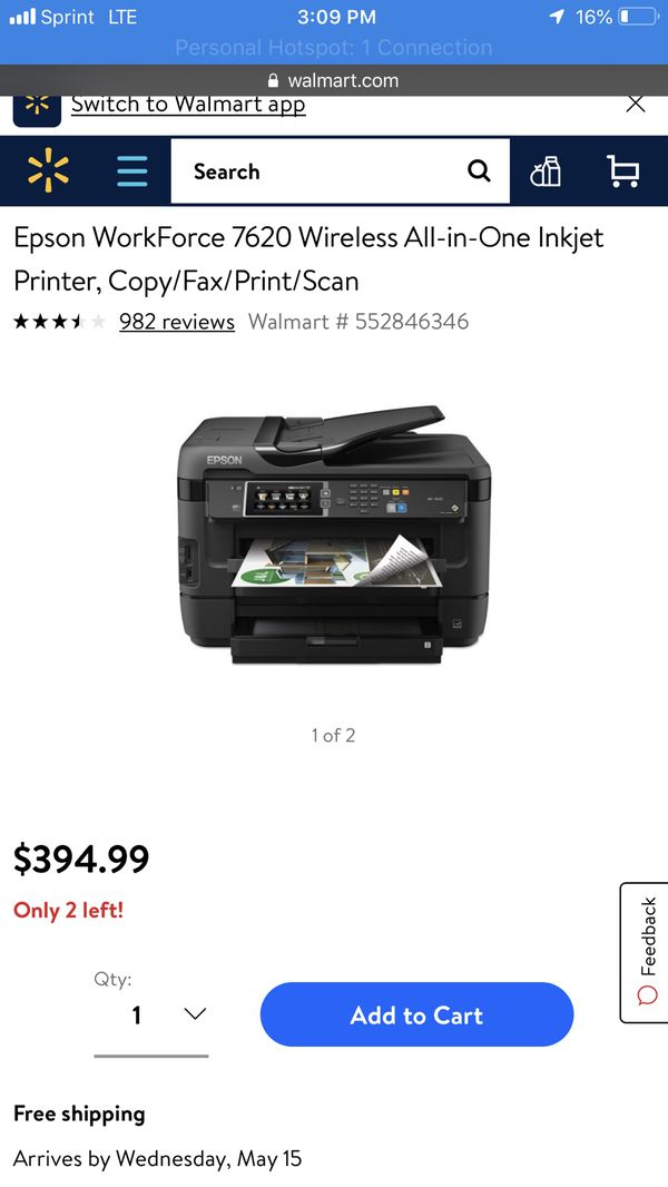 Epson All In One Printer Walmart
