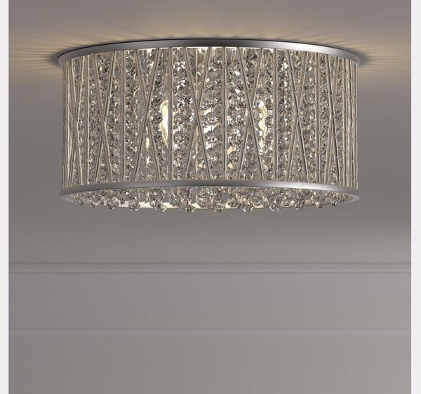 cheap for discount 09418 2dc20 Home decorators collection 3 light flush mount Saynsberry collection polish  chrome finish clear crystal beads for Sale in Jonesboro, GA - OfferUp