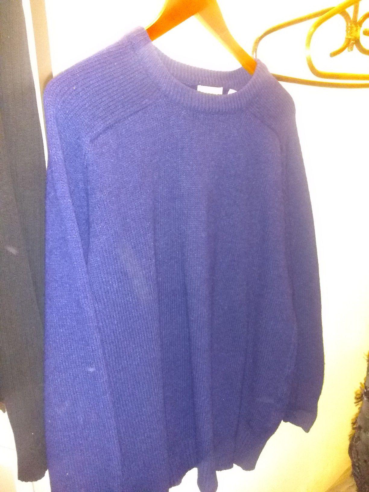 Cozy warm winter sweater