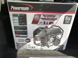 Brand new 7500 watt peak generator Thumbnail