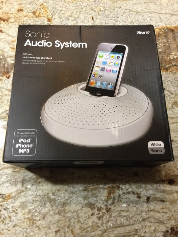 iPod iPhone MP3 sonic audio system for Sale in Cape Coral, FL - OfferUp