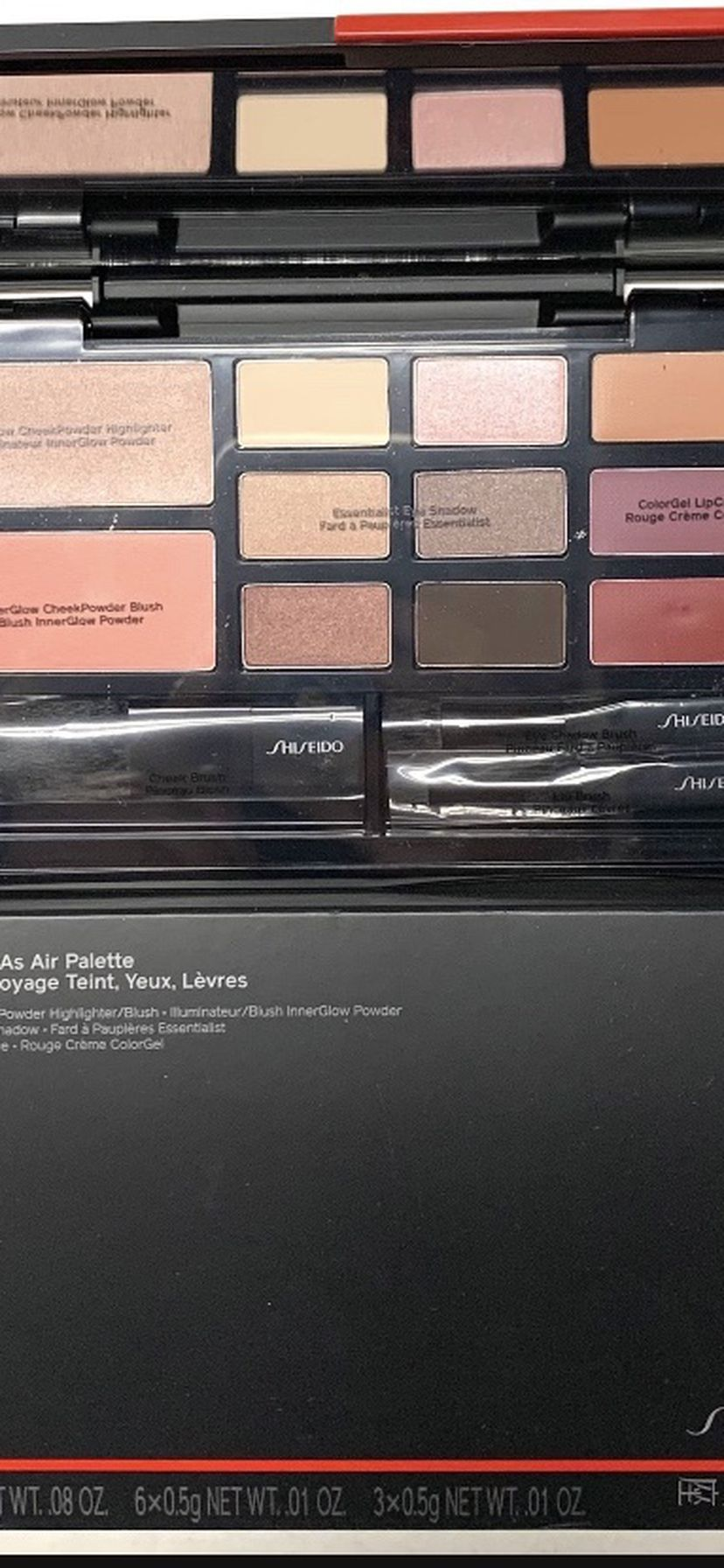 Shiseido Light As Air Eye, Cheek & Lip Palette NEW serious inquires only please Low offers will be ignored Pick up location in the city of Pico Riv