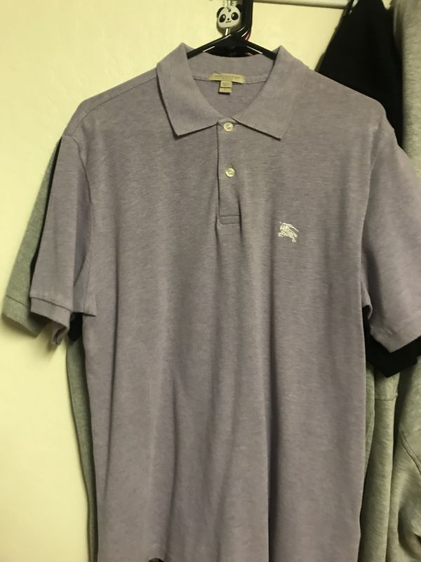 cd23efb9 Burberry Polo Size Medium 'Lavender' 100% Real for Sale in San Jose, CA -  OfferUp