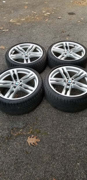 Full set of 20 inch bmw staggered sport rims for Sale in New York, NY