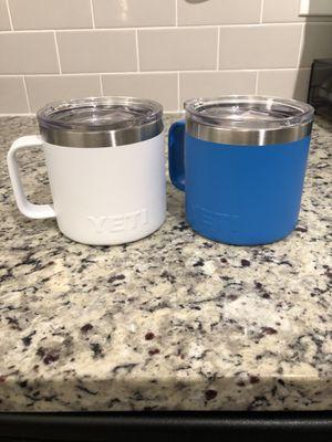 Yeti Rambler 14 oz Mugs (Set of 2) for Sale in Atlanta, GA