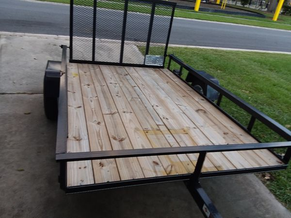 Travel Trailers For Sale Puyallup Wa >> UTILITY TRAILER 5x8 , YEAR 2018, LIKE NEW $700!! for Sale in Kissimmee, FL - OfferUp