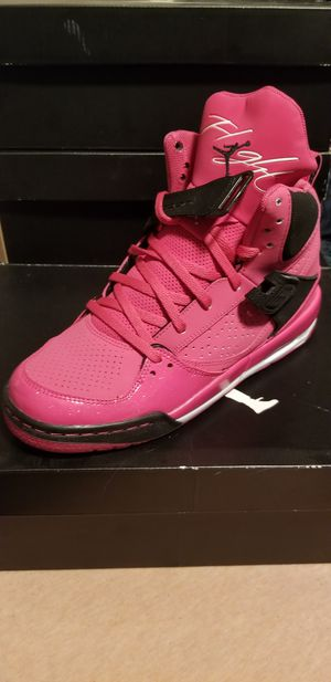 sports shoes 27e56 05919 Pink and black Jordans size 6.5 youth for Sale in San Diego, CA - OfferUp