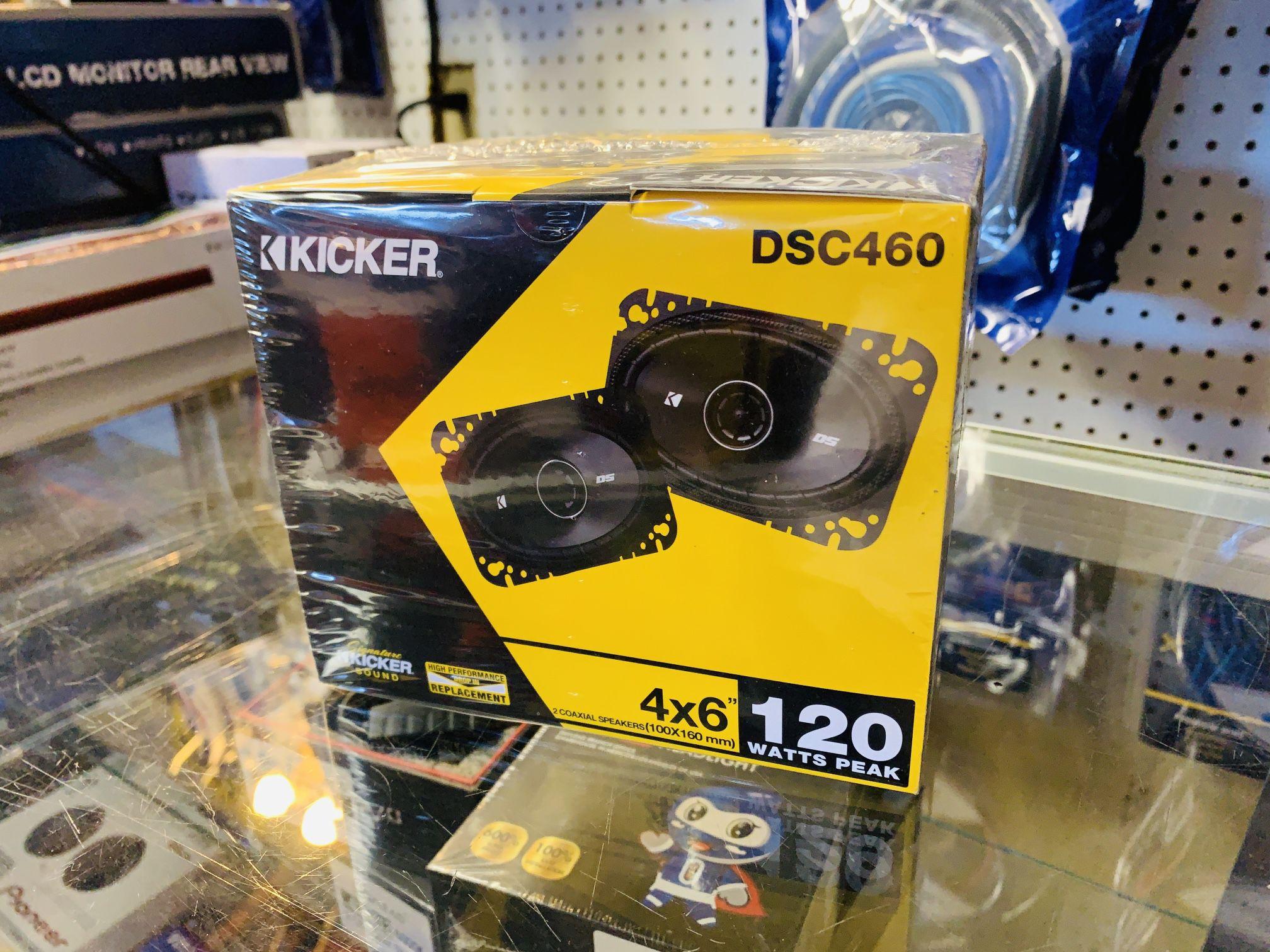 Kicker 4x6 Door Speakers