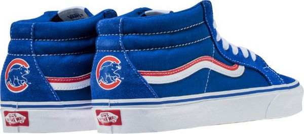 9b733a6bc8a 100% authentic MLB VANS shoes made for Chicago Cubs 2018 Limited for ...