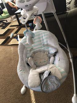 Baby swing bundle set Thumbnail
