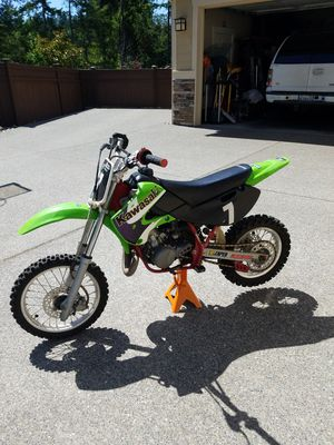 Dirt Bike 64cc motorcycle Kawasaki KSA Kx65-A2 2001 WITH TITLE for Sale in Severna Park, MD