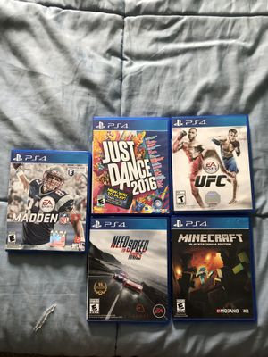 Ps4 games for Sale in Rockville, MD