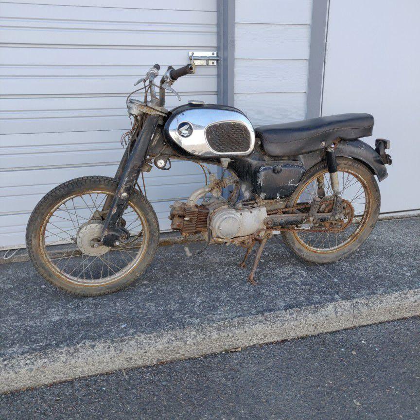 Photo 1963 Honda C200 Motorcycle