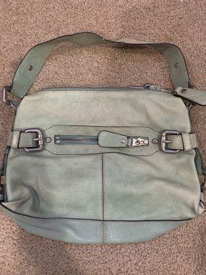 Photo Green Fossil leather handbag purse
