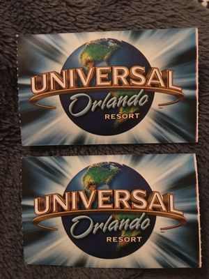 Universal Studios Tickets for Sale in Tampa, FL