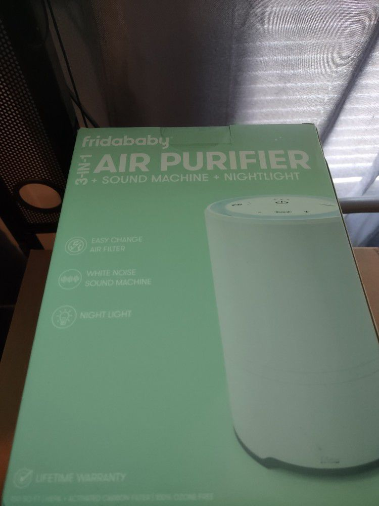 Baby Air Purifier 3-in-1