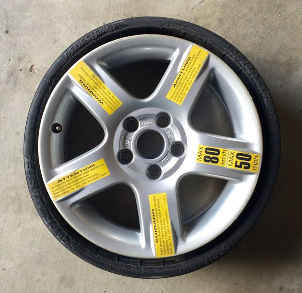 Has Anyone Fit A Compact Spare In The Well Chevy Bolt EV Forum Gorgeous 5x105 Bolt Pattern