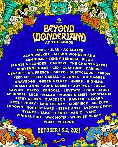 Beyond Wonderland Ticket