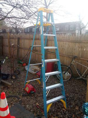 "Werner ladder holds 250 Ibs 8ft 12' 5'9"" for Sale in Severn, MD"