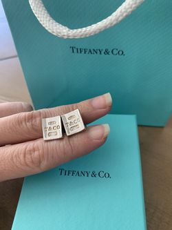 Tiffany & Co 925 Silver Cuff Links Thumbnail